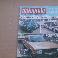 Coches: REVISTA AUTOPISTA N 1087 FEBRERO 1980. Lote 98863291