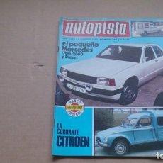 Coches: REVISTA AUTOPISTA N 1088 FEBRERO 1980. Lote 98863367