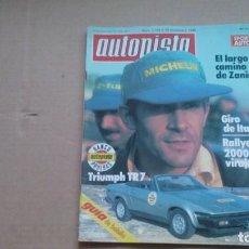 Coches: REVISTA AUTOPISTA N 1124 NOVIEMBRE 1980. Lote 98879563