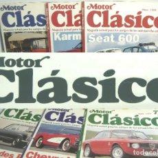 Coches: 22X REVISTAS MOTOR CLASICO-TAMBIEN SUELTAS- VER LISTADO 1994 1995 2004-REVISTA COCHE AUTOMOVIL MOTO. Lote 98888607