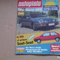 Coches: REVISTA AUTOPISTA. N 1250 JULIO 1983. Lote 99086419