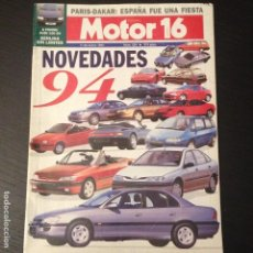 Coches: MOTOR 16 Nº 534 - AUDI S4 4.2 NISSAN SUNNY 2.0 DLX BMW F 650 RALLYE PARIS DAKAR NOVEDADES 1994. Lote 99121791