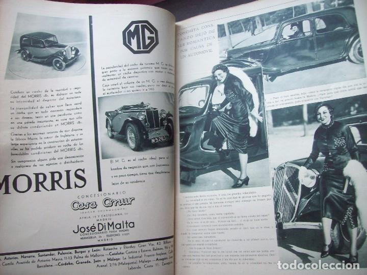 Coches: REVISTA AS . NUMERO EXTRAORDINARIO 1935 . DEDICADA AL SALON DEL AUTOMOVIL DE BARCELONA . UNICO - Foto 5 - 99185331