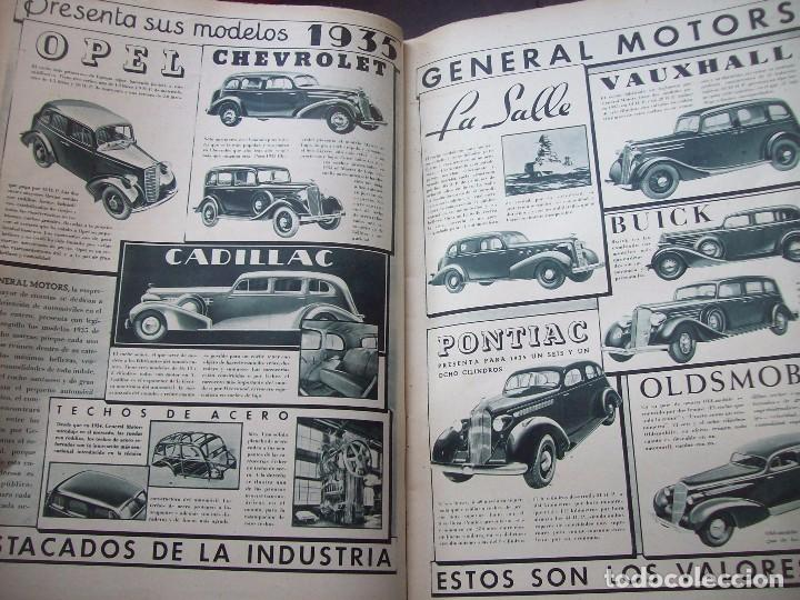 Coches: REVISTA AS . NUMERO EXTRAORDINARIO 1935 . DEDICADA AL SALON DEL AUTOMOVIL DE BARCELONA . UNICO - Foto 6 - 99185331