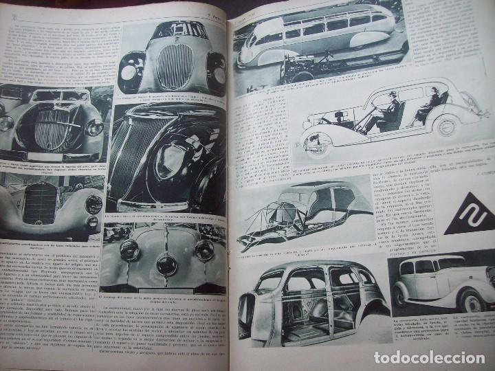 Coches: REVISTA AS . NUMERO EXTRAORDINARIO 1935 . DEDICADA AL SALON DEL AUTOMOVIL DE BARCELONA . UNICO - Foto 7 - 99185331
