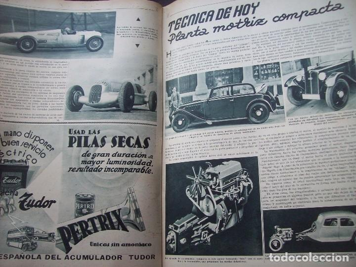 Coches: REVISTA AS . NUMERO EXTRAORDINARIO 1935 . DEDICADA AL SALON DEL AUTOMOVIL DE BARCELONA . UNICO - Foto 9 - 99185331