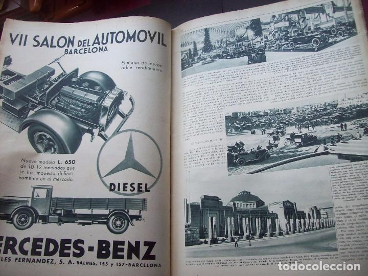 Coches: REVISTA AS . NUMERO EXTRAORDINARIO 1935 . DEDICADA AL SALON DEL AUTOMOVIL DE BARCELONA . UNICO - Foto 11 - 99185331