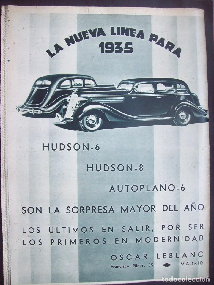 Coches: REVISTA AS . NUMERO EXTRAORDINARIO 1935 . DEDICADA AL SALON DEL AUTOMOVIL DE BARCELONA . UNICO - Foto 12 - 99185331