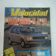 Coches: REVISTA VELOCIDAD 879 - 1978 - R-18 - SANGLAS 500- POSTER HANS STUCK Y SU SHADOW DN 9. Lote 99233907
