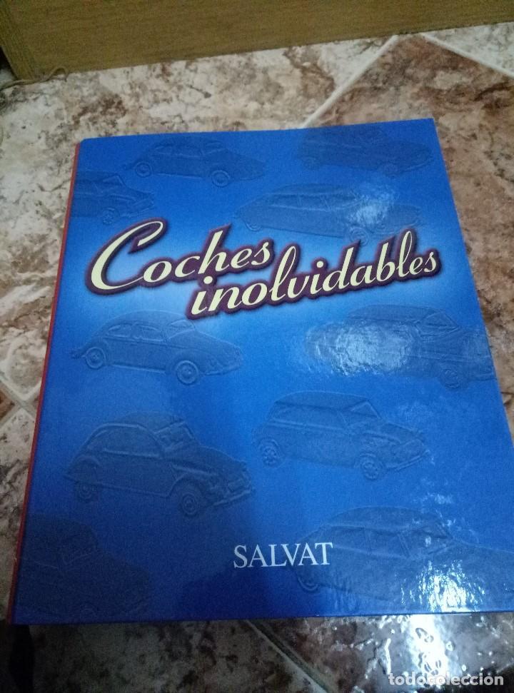 ARCHIVADOR COCHES INOLVIDABLES DE SALVAT, REPLETO DE FASCÍCULOS (TODOS EN FOTOS) (Coches y Motocicletas Antiguas y Clásicas - Revistas de Coches)