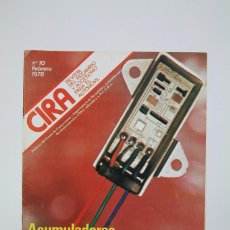 Coches: REVISTA CIRA RECAMBIO Y ACCESORIOS, Nº 10 FEBRERO 1978 - COCHES. Lote 132621094