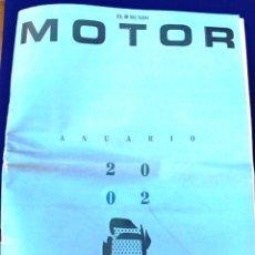 Coches: EL MUNDO. ANUARIO 2002 DEL MOTOR. COCHES DE 2002, RALLY, FÓRMULA 1, MOTOCICLETAS. SUPLEMENTO.. Lote 99891115