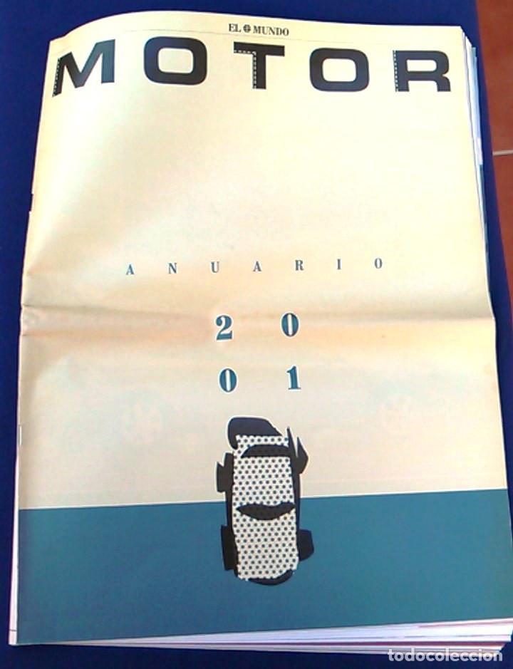 EL MUNDO. ANUARIO 2001 DEL MOTOR. COCHES DE 2001, RALLY, FÓRMULA 1, MOTOCICLETAS. SUPLEMENTO. (Coches y Motocicletas Antiguas y Clásicas - Revistas de Coches)