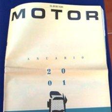 Coches: EL MUNDO. ANUARIO 2001 DEL MOTOR. COCHES DE 2001, RALLY, FÓRMULA 1, MOTOCICLETAS. SUPLEMENTO.. Lote 99891535