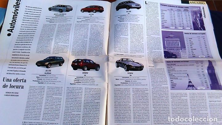 Coches: El Mundo. Anuario 2001 del motor. Coches de 2001, Rally, Fórmula 1, Motocicletas. Suplemento. - Foto 2 - 99891535