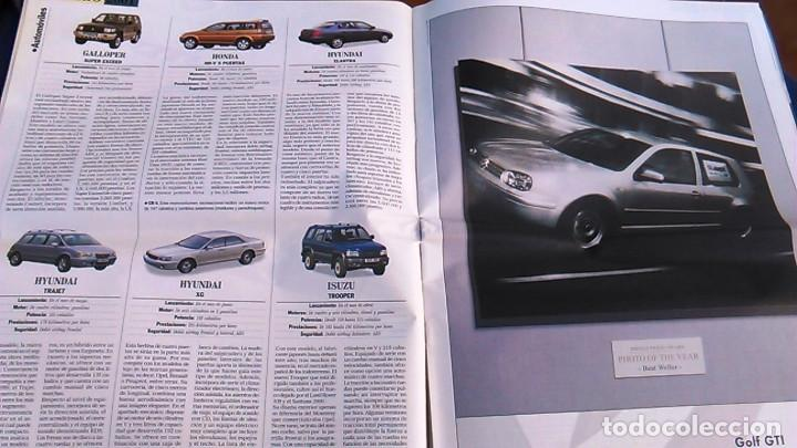 Coches: El Mundo. Anuario 2001 del motor. Coches de 2001, Rally, Fórmula 1, Motocicletas. Suplemento. - Foto 3 - 99891535