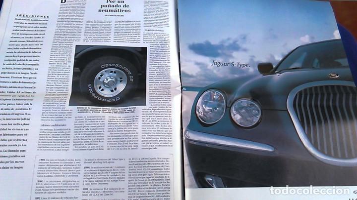 Coches: El Mundo. Anuario 2001 del motor. Coches de 2001, Rally, Fórmula 1, Motocicletas. Suplemento. - Foto 4 - 99891535