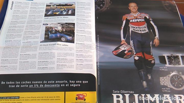 Coches: El Mundo. Anuario 2001 del motor. Coches de 2001, Rally, Fórmula 1, Motocicletas. Suplemento. - Foto 6 - 99891535