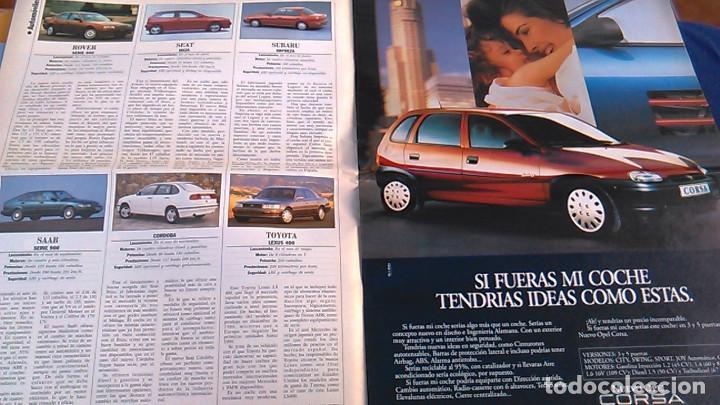 Coches: El Mundo. Anuario 1994 del motor. Coches de 1, Rally, Fórmula 1, Motocicletas. Suplemento. - Foto 4 - 99891835