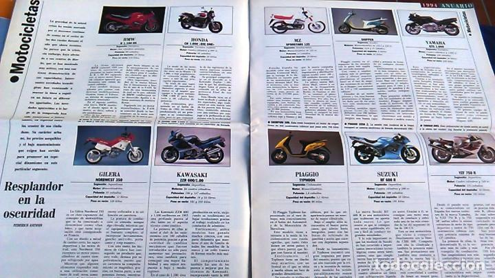 Coches: El Mundo. Anuario 1994 del motor. Coches de 1, Rally, Fórmula 1, Motocicletas. Suplemento. - Foto 5 - 99891835