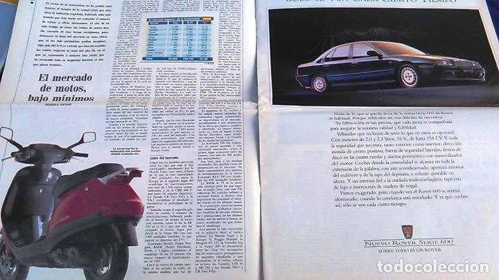 Coches: El Mundo. Anuario 1994 del motor. Coches de 1, Rally, Fórmula 1, Motocicletas. Suplemento. - Foto 6 - 99891835
