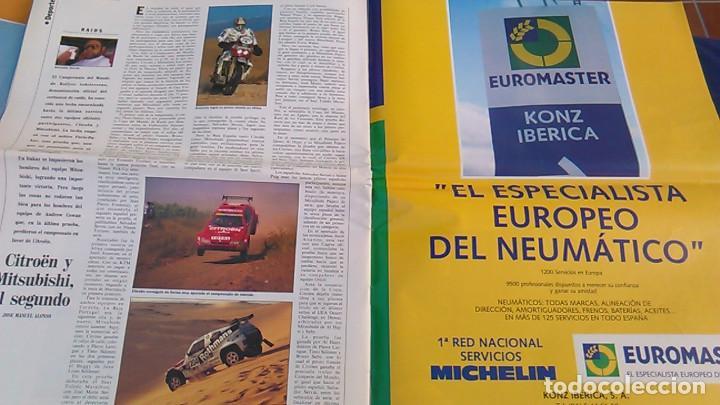 Coches: El Mundo. Anuario 1994 del motor. Coches de 1, Rally, Fórmula 1, Motocicletas. Suplemento. - Foto 9 - 99891835