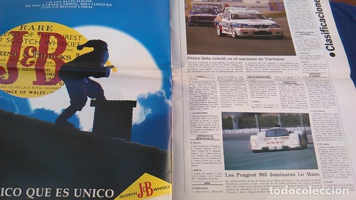 Coches: El Mundo. Anuario 1994 del motor. Coches de 1, Rally, Fórmula 1, Motocicletas. Suplemento. - Foto 10 - 99891835