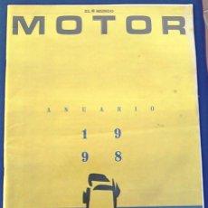 Coches: EL MUNDO. ANUARIO 1998 DEL MOTOR. COCHES DE 1, RALLY, FÓRMULA 1. MODELOS AUTOMÓVIL DE LOS AÑOS 90.. Lote 100276203