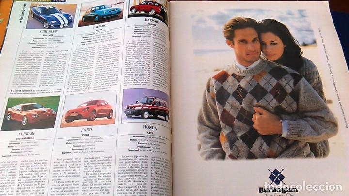 Coches: El Mundo. Anuario 1998 del motor. Coches de 1, Rally, Fórmula 1. Modelos automóvil de los años 90. - Foto 3 - 100276203