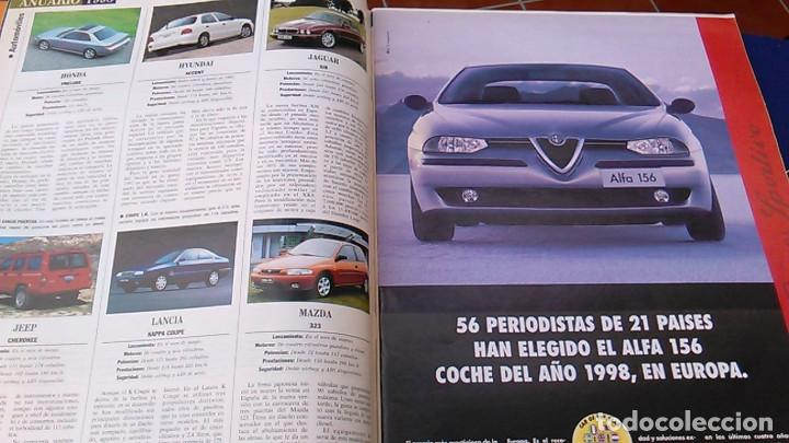 Coches: El Mundo. Anuario 1998 del motor. Coches de 1, Rally, Fórmula 1. Modelos automóvil de los años 90. - Foto 4 - 100276203