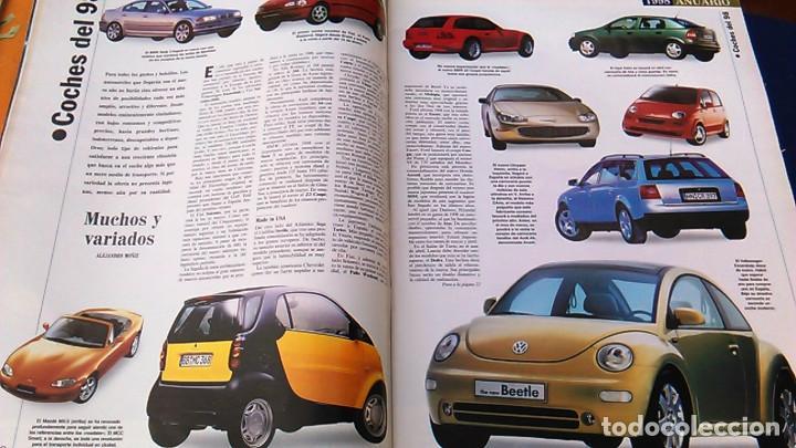 Coches: El Mundo. Anuario 1998 del motor. Coches de 1, Rally, Fórmula 1. Modelos automóvil de los años 90. - Foto 6 - 100276203