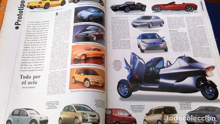 Coches: El Mundo. Anuario 1998 del motor. Coches de 1, Rally, Fórmula 1. Modelos automóvil de los años 90. - Foto 7 - 100276203