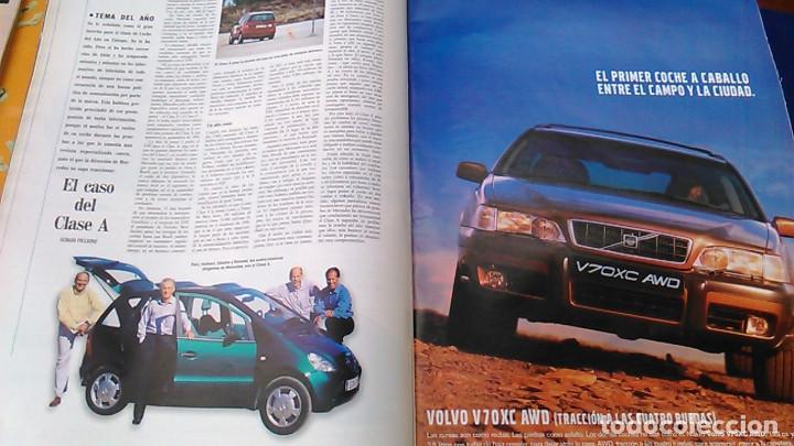 Coches: El Mundo. Anuario 1998 del motor. Coches de 1, Rally, Fórmula 1. Modelos automóvil de los años 90. - Foto 8 - 100276203