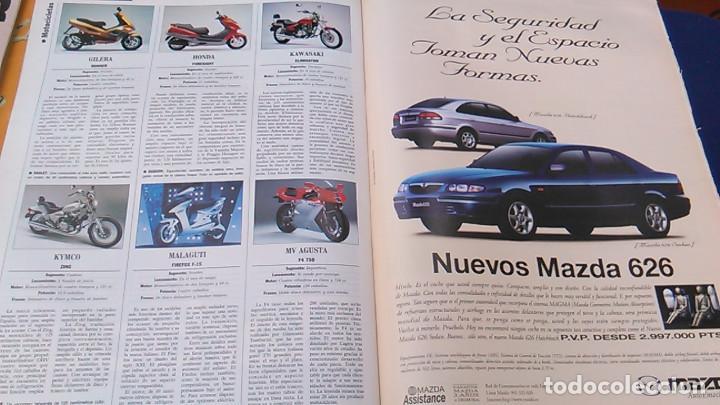 Coches: El Mundo. Anuario 1998 del motor. Coches de 1, Rally, Fórmula 1. Modelos automóvil de los años 90. - Foto 11 - 100276203