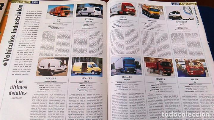 Coches: El Mundo. Anuario 1998 del motor. Coches de 1, Rally, Fórmula 1. Modelos automóvil de los años 90. - Foto 12 - 100276203