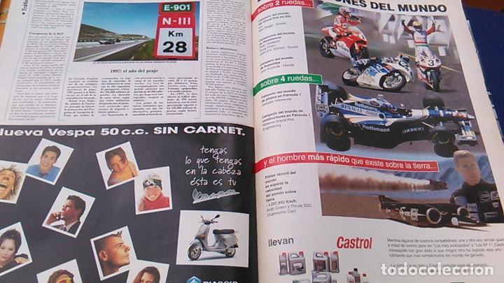 Coches: El Mundo. Anuario 1998 del motor. Coches de 1, Rally, Fórmula 1. Modelos automóvil de los años 90. - Foto 13 - 100276203