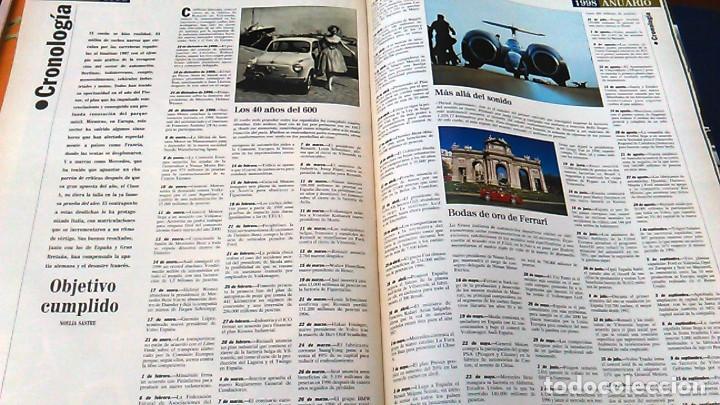 Coches: El Mundo. Anuario 1998 del motor. Coches de 1, Rally, Fórmula 1. Modelos automóvil de los años 90. - Foto 14 - 100276203