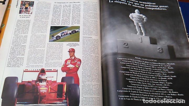 Coches: El Mundo. Anuario 1998 del motor. Coches de 1, Rally, Fórmula 1. Modelos automóvil de los años 90. - Foto 15 - 100276203