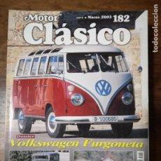 Auto: MOTOR CLÁSICO Nº 182. MARZO DE 2003. DOSSIER: VOLKSWAGEN FURGONETA. PRUEBA: ALFA ROMEO GIULIA . Lote 100452719