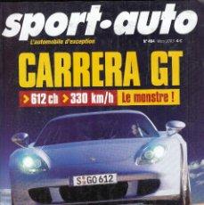 Coches: REVISTA SPORT AUTO FRANCES Nº 494 AÑO 2003. PRUEBA: MERCEDES CLK 55 AMG. CATERHAM SUPERLIGHT R500.. Lote 100509439