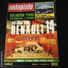 Coches: AUTOPISTA Nº 965 - . Lote 101168843