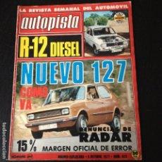 Coches: AUTOPISTA Nº 972 - . Lote 101168883