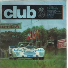 Coches: REVISTA CLUB, Nº 219, MAYO 1983. RACC, REAL AUTOMOVIL CLUB DE CATALUNYA. Lote 101207975