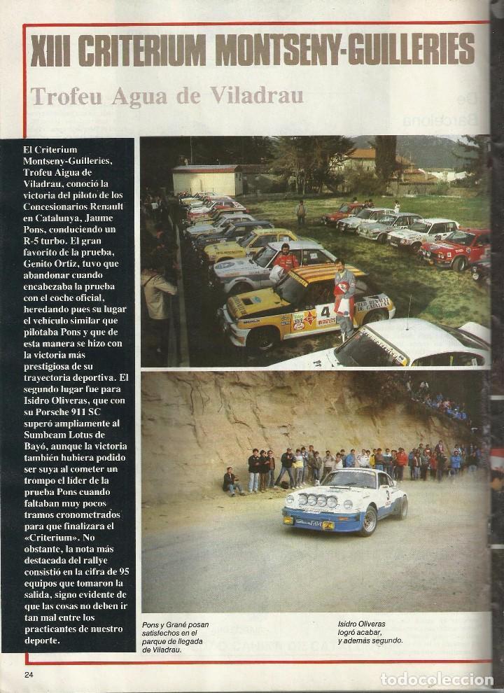 Coches: REVISTA CLUB, Nº 219, MAYO 1983. RACC, REAL AUTOMOVIL CLUB DE CATALUNYA - Foto 3 - 101207975