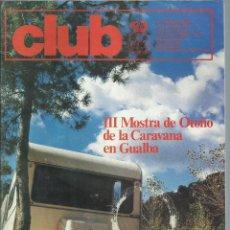Coches: REVISTA CLUB, Nº 204, SEPTIEMBRE - OCTUBRE 1981. RACC, REAL AUTOMOVIL CLUB DE CATALUNYA. Lote 101228695