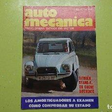 Coches: AUTO MECÁNICA, N° 91, CITROËN DYANE 6. Lote 101771991