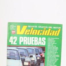 Coches: REVISTA DE COCHES VELOCIDAD - EL OPEL CORSA 1.0 Y SUS RIVALES Nº 1.111 - DICIEMBRE 1982. Lote 101833947