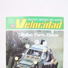 Coches: REVISTA DE COCHES VELOCIDAD - RALLY PARIS - DAKAR Nº 1.113 - ENERO 1983. Lote 101835659