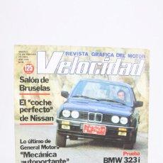 Coches: REVISTA DE COCHES VELOCIDAD - EL NUEVO FIESTA DE FORD Nº 1.117 - FEBRERO 1983. Lote 101836587