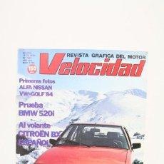 Coches: REVISTA DE COCHES VELOCIDAD - AL VOLANTE CITROËN BX Nº 1.125 - ABRIL 1983. Lote 101839951